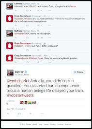 caltrain absolutely wrecks an annoyed passenger sanfrancisco
