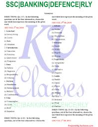useful synonyms kvclasses u2013 a step towards education