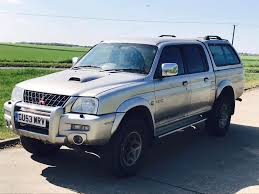 mitsubishi warrior l200 mitsubishi l200 u0027warrior u0027 2004 model u0027double cab pick up lwb