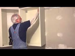 Used Ikea Cabinets Ikea Cabinet Installation Hack Youtube