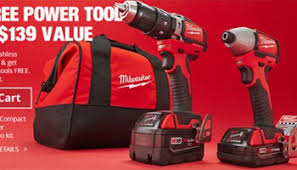 home depot black friday 2014 toolguyd deal buy a milwaukee or makita power tool combo kit get a bonus