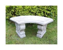 Curved Outdoor Benches Stone Garden Bench Curved Side Curved Outdoor Bench Ideas Curved