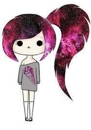 imagenes de monitas kawaii chica con pelo galactico 7 hello pinterest kawaii drawings