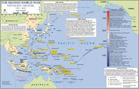 Map Of Okinawa Map Pacific Theater 1941 1945 World War Ii History
