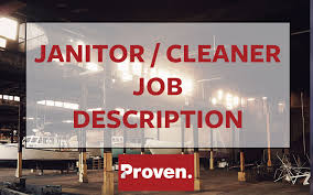 Janitor Job Duties Resume by The Perfect Janitor Job Description