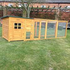 Rabbit Hutch Extension Feelgooduk Chicken Coop And Extension Amazon Co Uk Pet Supplies