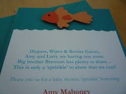 goldfish theme baby shower project nursery