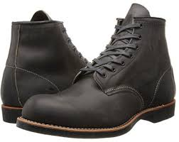 combat boots black friday red wing heritage blacksmith 6 round toe wing shoes man shop