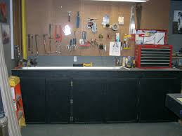 garage workbench build an organized pegboard tool cabinet and