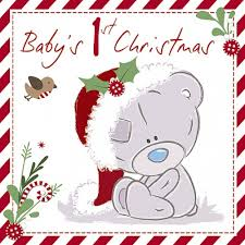 baby u0027s first christmas card me to you tatty teddy bear christmas