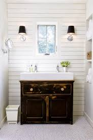 bathroom tiny guest with antique vanity and timber wall bathroom tiny guest with antique vanity and timber wall design decorating ideas modern accessories half