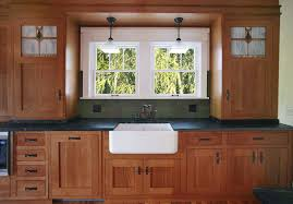 mission style kitchen cabinets mission style kitchen not sure about the sink they re
