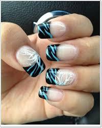 zebra pattern nail art 25 zebra print nails design ideas
