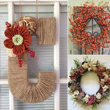 fall wreaths cheap fall wreaths popsugar smart living