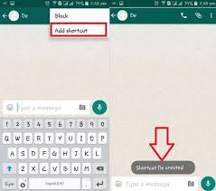 how to add to a on android how to add shortcut of whatsapp contact on android best useful