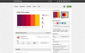 color or colour best color palette generators html color codes