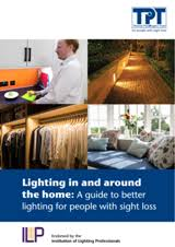 lighting for visually impaired lighting guide to enable visually impaired people to improve