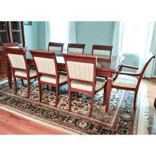 mahogany dining room tables bright baker dining room table and chairs 123 baker mahogany