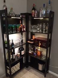 Ikea Bookcase Ladder by Laiva Bookcase Black Brown Diy Bar Bar And Apartments