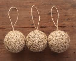 rustic and i made these ornaments with my favorite jute
