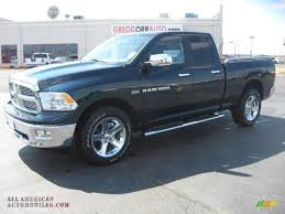 2011 dodge ram 1500 for sale 2011 dodge ram 1500 big horn cab in green pearl