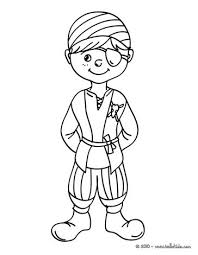 pirate carnival costume coloring pages hellokids