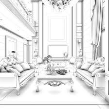 china 3d family living room restaurant design cgtrader