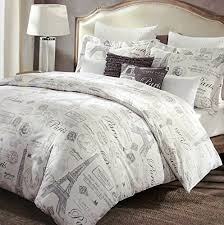 French Bed Linens Duvet Covers Paris French Vintage Duvet Quilt Cover By Designer Cynthia Rowley