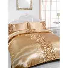 Gold Bedding Sets Gold Embellished King Size Duvet Pillowcase Bedding Set