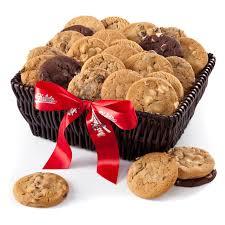 mrs fields gift baskets mrs fields brownie cookie gift basket hayneedle