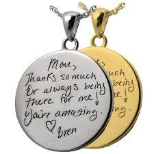 personalized pendants wholesale personalized pendant handwriting logo jewelry