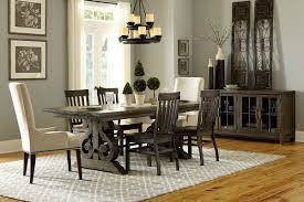 White Wood Dining Room Table by Bellpine Dining Room Collection