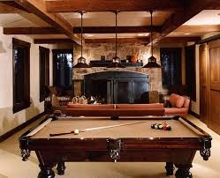 Pool Tables Games Pool Table Room Ideas Rustic Rec Room With Pool Table Game