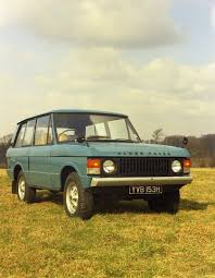 first range rover ever made range rover suv celebrates its 45th birthday today land rover
