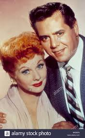 i love lucy tv lucille ball desi arnaz ily 002 stock photo