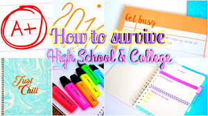 tips u0026 organization hacks on how to survive high back to