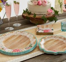 bridal shower plate to sign bridal shower themes tableware supplies party city