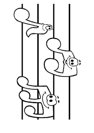 music notes coloring pages pictures free printable music note