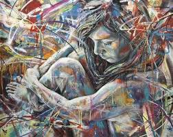 Spray Paint Artist - graffiti artist david walker paints a in this colorful