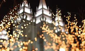 the salt lake temple in spring dav d photography