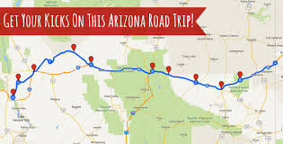 Route 66 Map by Get Your Kicks On This Arizona Road Trip