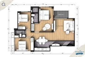 3 bedroom u2013 seven seas cote d u0027azur u2013 mediterranean condo resort