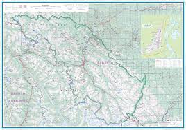 Jasper National Park Canada Map by Maps For Travel City Maps Road Maps Guides Globes Topographic
