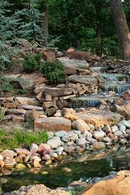 Waterfalls In Backyard Ponds by 234 Best Ponds And Rock Gardens Images On Pinterest Backyard
