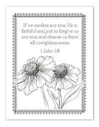 889 faith coloring pages images sunday