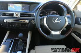 lexus gs350 f sport interior 2012 lexus gs 350 sports luxury review performancedrive