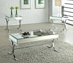silver mirrored coffee table the coffee table modern mirrored top glass and throughout silver