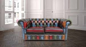 what is chesterfield sofa patchwork leather 2 seater chesterfield sofa shop now