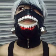 cool masks hot tokyo ghoul 2 kaneki ken mask adjustable zipper masks pu