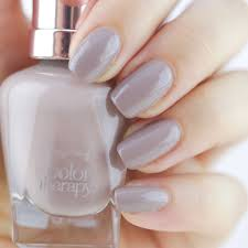 steely serene swatch sally hansen color therapy web nails